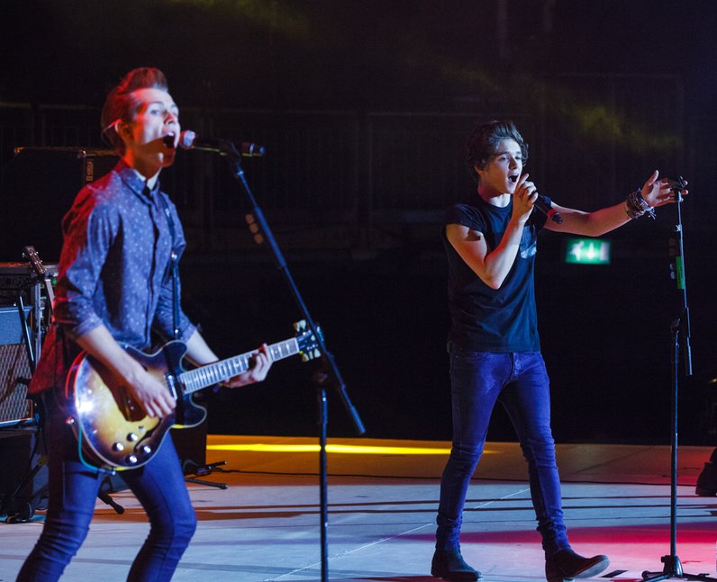 The Vamps live Jingle Bell Ball 2013