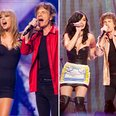 Taylor, Katy Perry with Mick Jagger