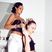 16. Rihanna Sorts Out Cara Delevingne's Hair For New Year's Eve