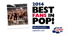 Best Fans In Pop 2014