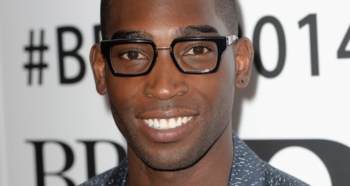 Tinie Tempah at the BRIT nominations 2014