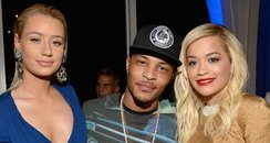 Iggy Azalea, T.I. and Rita Ora