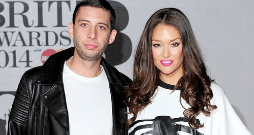 Example and Erin BRIT Awards Red Carpet 2014