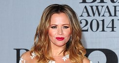 Kimberley Walsh at the Brit Awards 2014