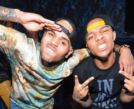 Chris Brown and Bow Wow