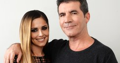 Cheryl Cole and Simon Cowell X Factor 2014