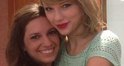 Taylor Swift At Fan's Bridal Shower