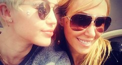 Miley Cyrus Mum London Instagram