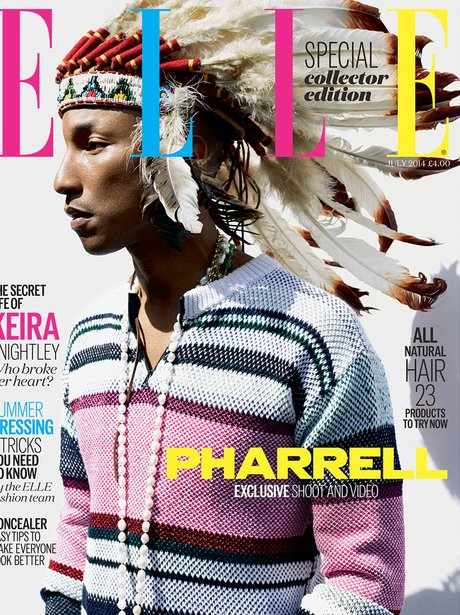 Pharrell Williams Ell Magazine Collector Edition