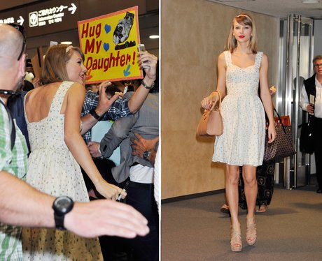 Taylor Swift at the airport