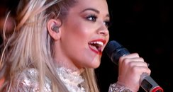 Rita Ora performs onstage during the Take-Two E3 K
