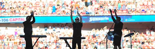 Duke Dumont Summertime Ball 2014 Performance