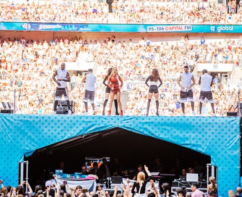 Rita Ora live at the Summertime Ball 2014