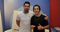 Rob Howard with Austin Mahone - North East Live