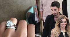 cheryl cole, married, engagement ring,
