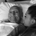 Ariana Grande and granddad