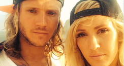 Ellie Gouding and Dougie Poynter