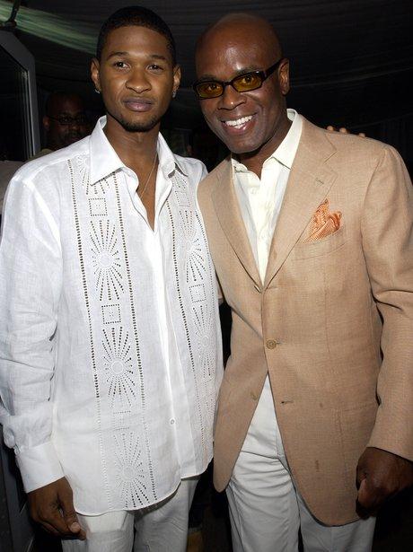 Usher with LA Reid
