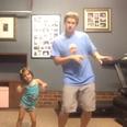 Dad daughter shake it off dance