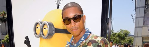 Pharrell Despicable Me Premiere