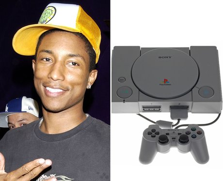 Pharrell Then and Now