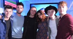 Rixton On Capital Breakfast With Dave And Lisa