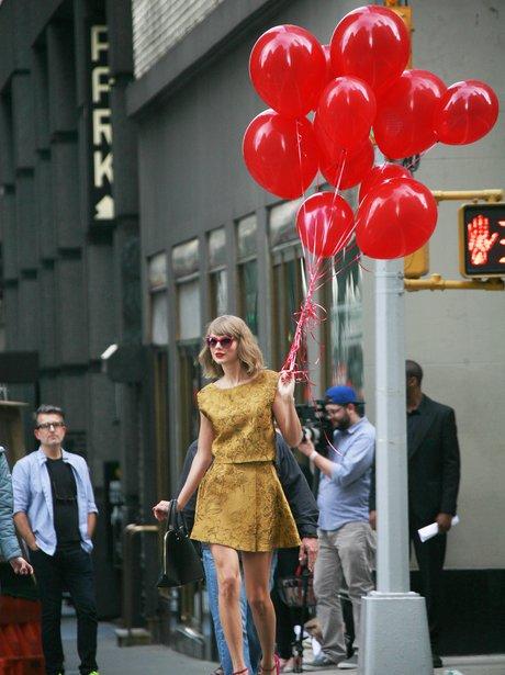Taylor Swift Balloons New York