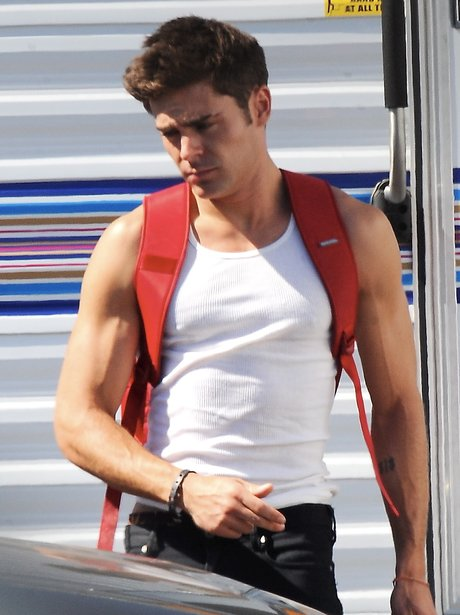 Zac Effron Filming New Film 'We Are Your Friends'