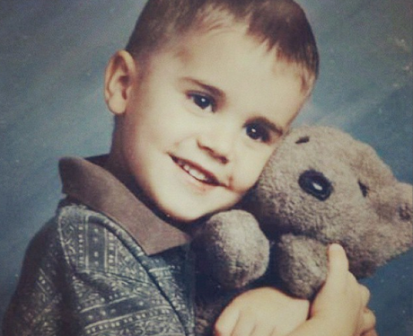 Justin Bieber Baby Picture