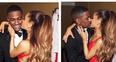 Big Sean and Ariana Grande kissing Instagram Pictu