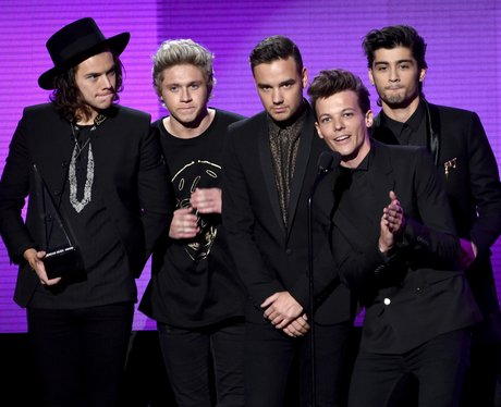 One Directon on stage at American Music Awards