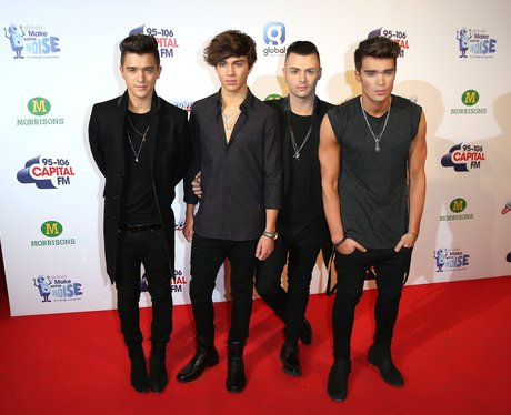 Union J Red Carpet Jingle Bell Ball 2014
