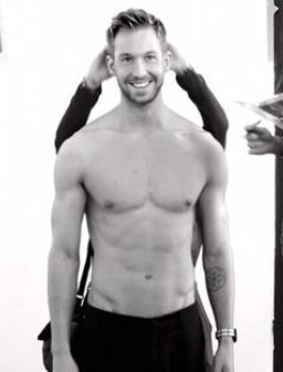 Calvin Harris Topless