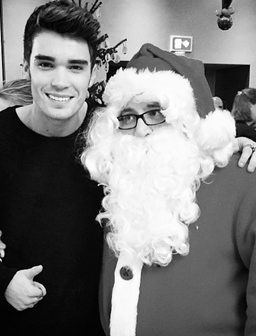 Josh Cuthbert and Father Christmas I