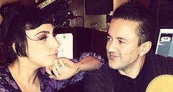 Lady Gaga RedOne Studio Instagram