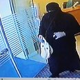 an In Burkha Tries To Rob Leicester Bank
