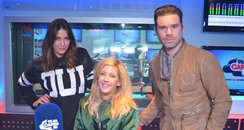 Ellie Goulding With Dave Berry And Lisa Snowdon