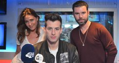 Mark Ronson With Dave Berry And Lisa Snowdon