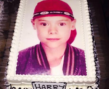 Harry STyles birthday cake