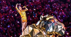 Katy Pery live at the superbowl
