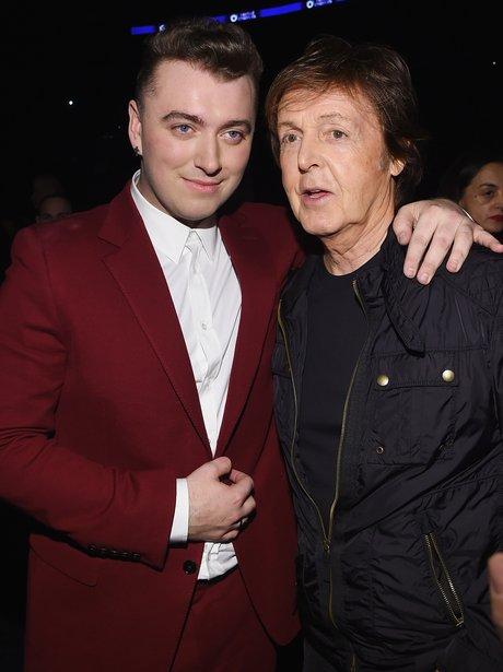 Sam Smith and Sir Paul McCartney