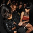 Kim Kardashian, North West, Kanye West and Nicki