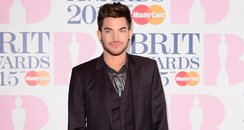 Adam Lambert BRIT Awards Red Carpet 2015