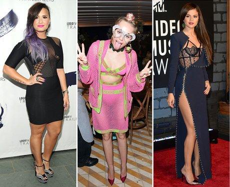 Demi Lovato, Miley Cyrus and Selena Gomez: Transfo