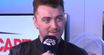 Sam Smith BRIT Awards Backstage Interview