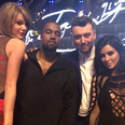 Kanye West and Kim Kardashian BRIT Awards 2015