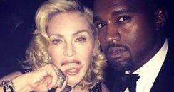 Kanye West and Madonna