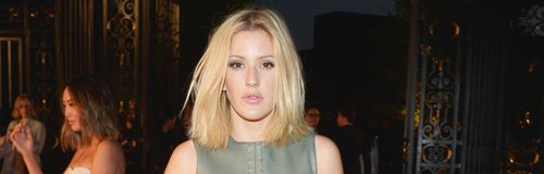 Ellie Goulding Leather Dress Burberry Event