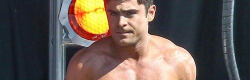 Zac Efron Topless