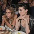Cara Delevingne and St. Vincent in Cannes